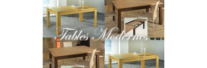 Tables Modernes